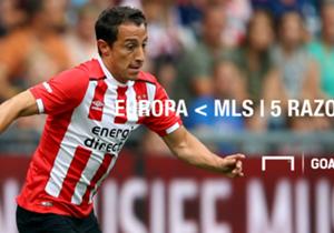 Se habla de que Andrés Guardado pudiese salir del PSV en el mercado invernal rumbo a Estados Unidos. Para nosotros no sería tan mala idea...