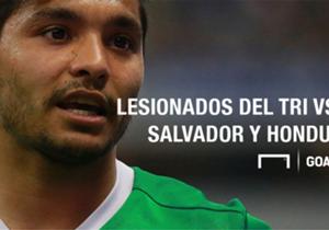 De cara a los próximos dos partidos eliminatorios rumbo a Rusia 2018, la Selección Mexicana ha tenido bajas significativas por diversos motivos.