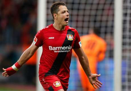 Chicharito recuerda su gol al Atlético