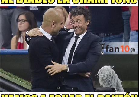 Memes de la jornada de Champions