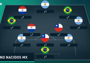 ¿Qué pasaría si los clubes de la Liga MX sólo pudieran jugar con futbolistas extranjeros? ¡En Goal te presentamos el once ideal de cada equipo!