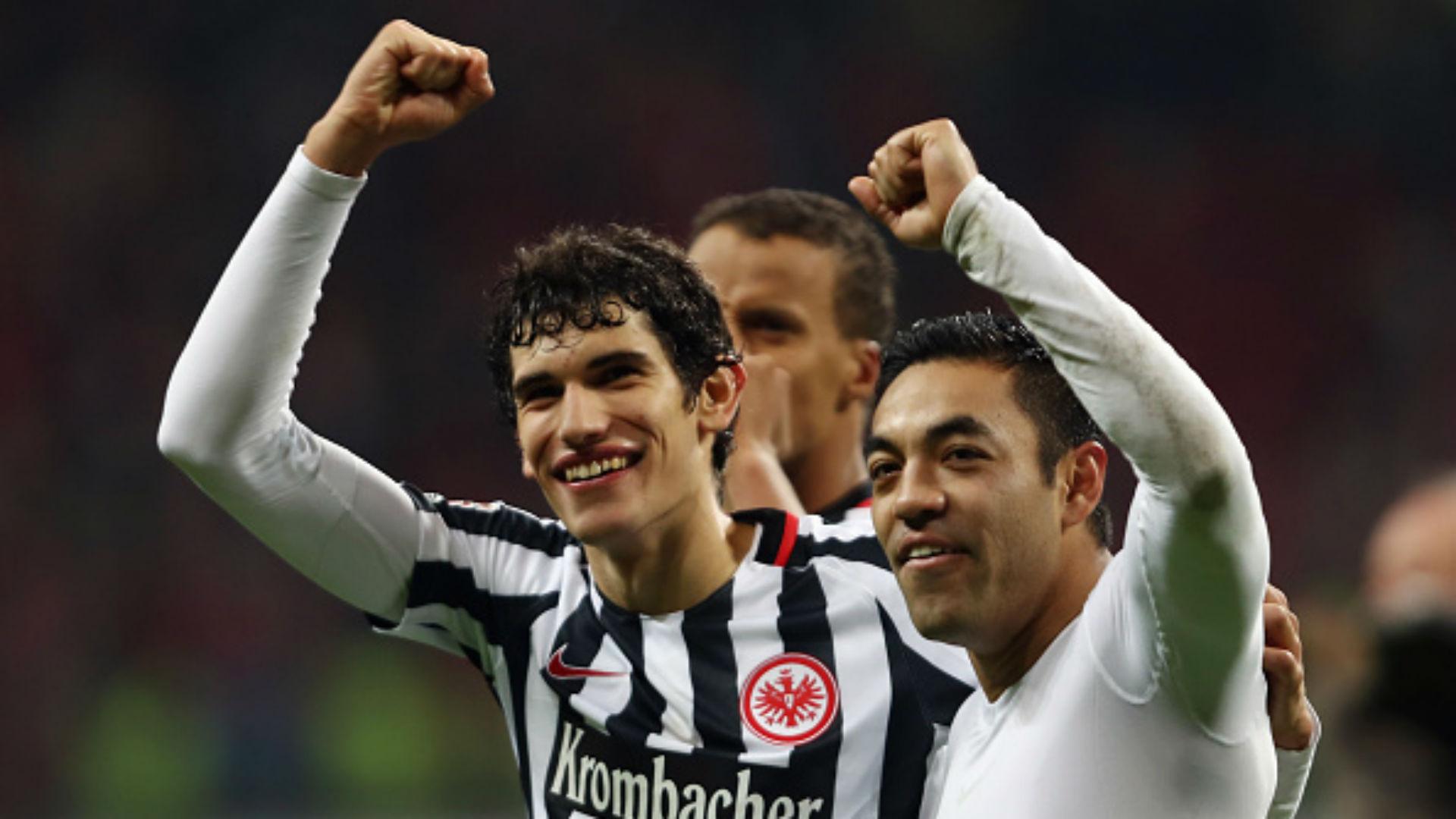 Sin mucho brillo Fabián en el triunfo del Frankfurt (2-1)
