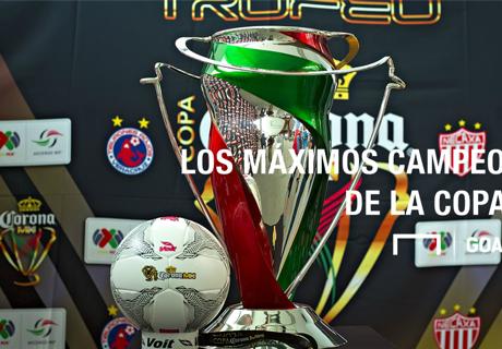 GALERÍA: Ganadores de Copa MX