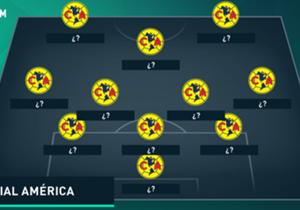 El sistema de juego presentaría variantes debido a las condiciones de los futbolistas seleccionados.