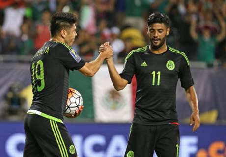 México goleó a Cuba en su debut