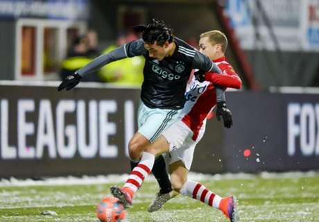 Jong Ajax zwijnt tegen Emmen