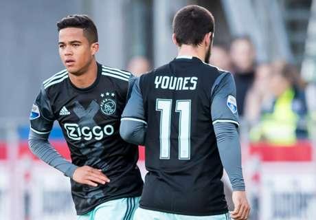 Justin Kluivert debuta con el Ajax