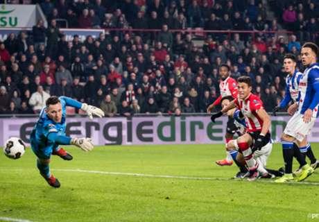 Moreno scores winner for PSV