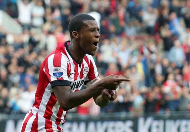 Georginio Wijnaldum hoopt op prijzen met PSV