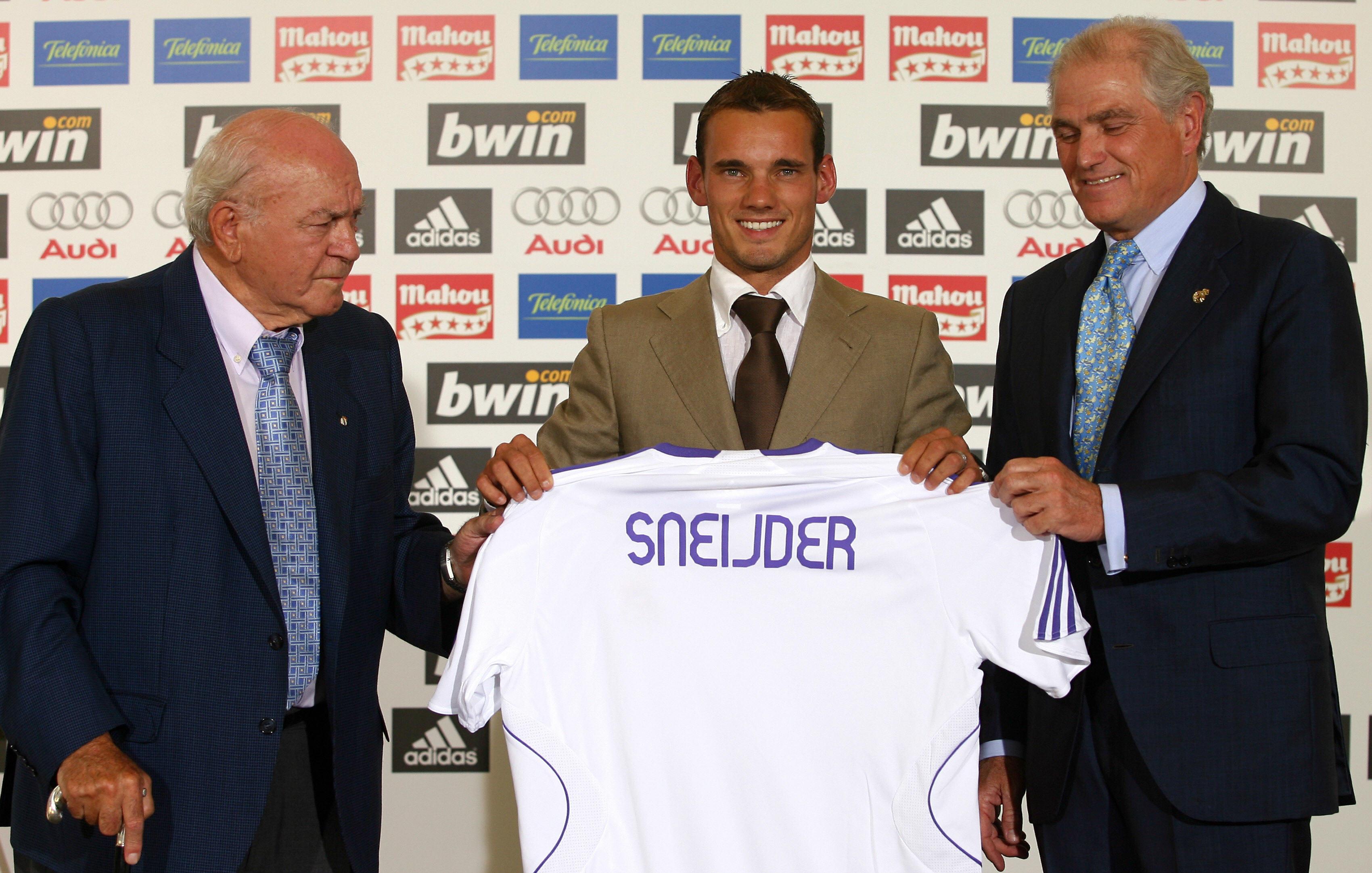 Wesley Sneijder Real Madrid Top 20 transfers Eredivisie