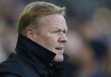 Koeman hails 'perfect' Everton