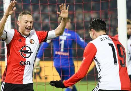 Feyenoord Petik Delapan Kemenangan Beruntun