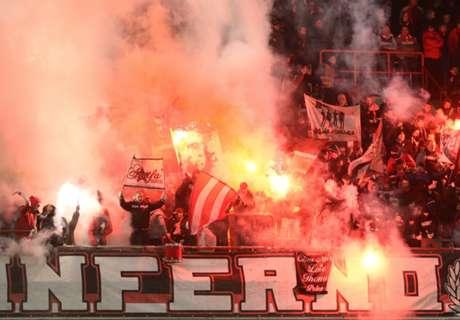 Wangedrag Standard-fans, derby gestaakt