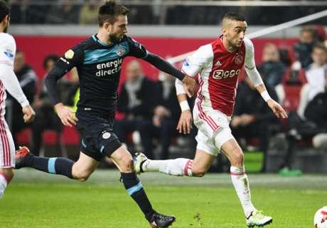 Eredivisie: Ajax & PSV Berbagi Angka