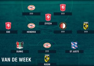 De derde speelronde in de Eredivisie ligt achter ons en Goal kijkt aan de hand van Opta-stats naar de spelers die uitblonken in het Team van de Week!