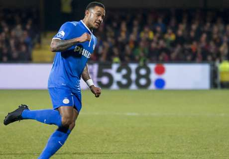 Depay Eredivisie's top scorer