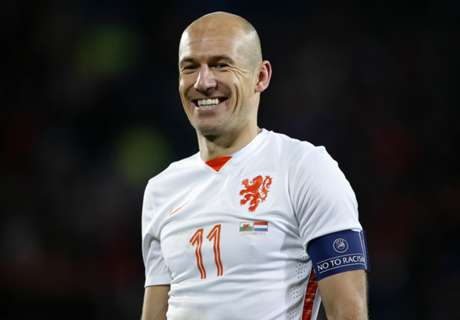 Robben not quitting Netherlands