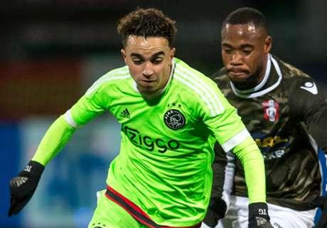 Jong Ajax wint in Dordrecht