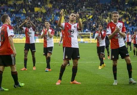 OPTA: สถิติทีมในเอเรดิวิซี เนเธอร์แลนด์ 2014-15