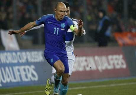 Rien de grave pour Arjen Robben