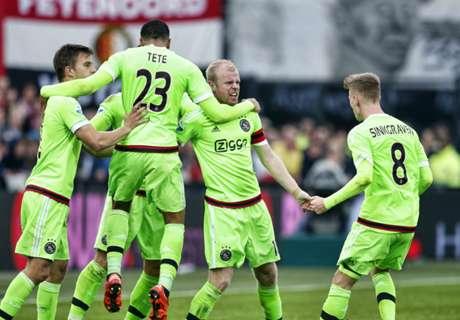 Review Paruh Musim Eredivisie Belanda 2015/16