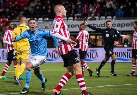 Sparta verliest in slotfase van Utrecht