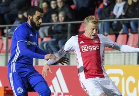 Jong Ajax scoort er op los tegen Almere