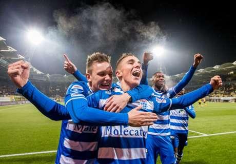 Thomas langer bij PEC Zwolle