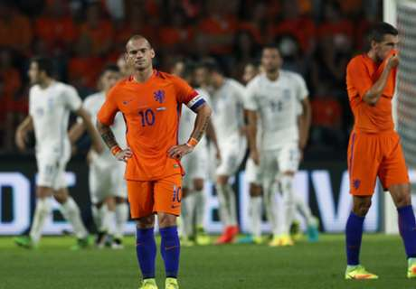 Oranje defeated by battling Greeks