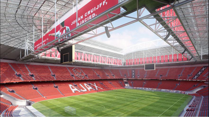 Le stade va être renommé Johan-Cruijff Arena — Ajax