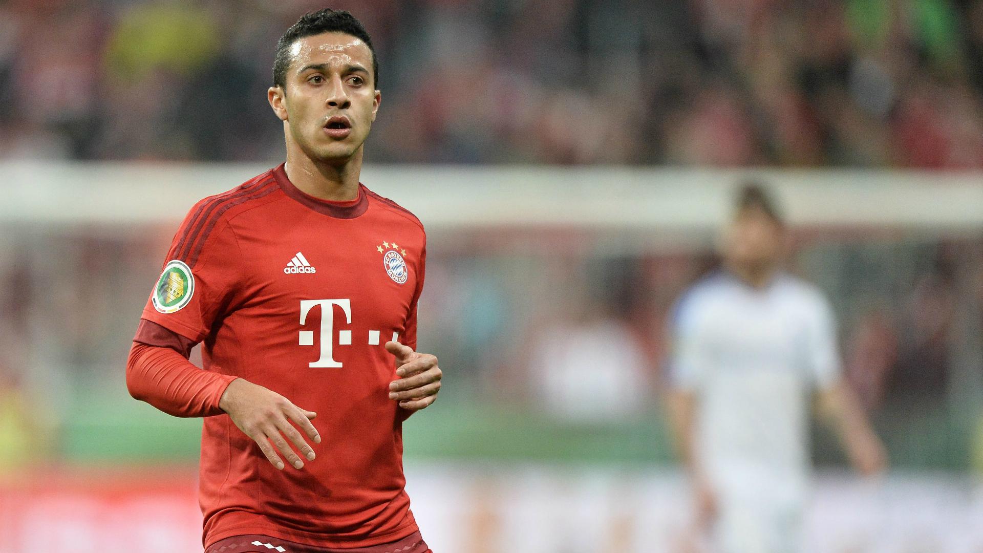 Thiago Alcantara, Bayern Munchen, 20151215