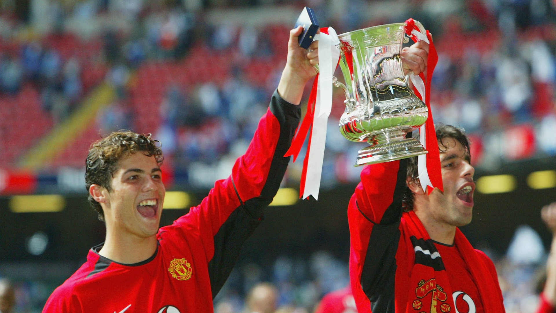 Cristiano Ronaldo Ruud van Nistelrooy Manchester United