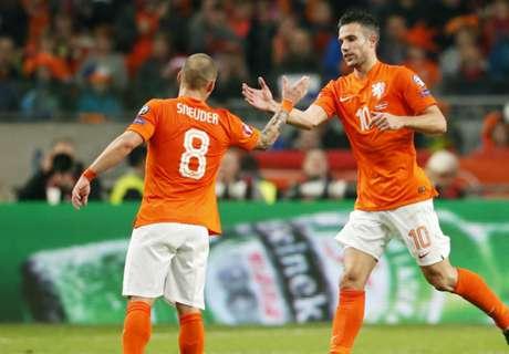 Elim. Euro2016: Letônia 0 x 2 Holanda