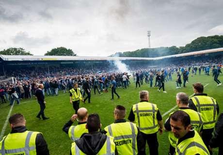 Vijverberg-fans vallen Go Ahead aan