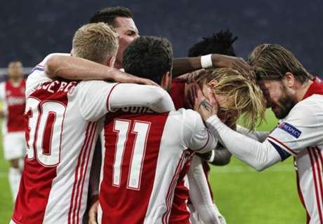 Ajax, Dolberg dump Danes from UEL