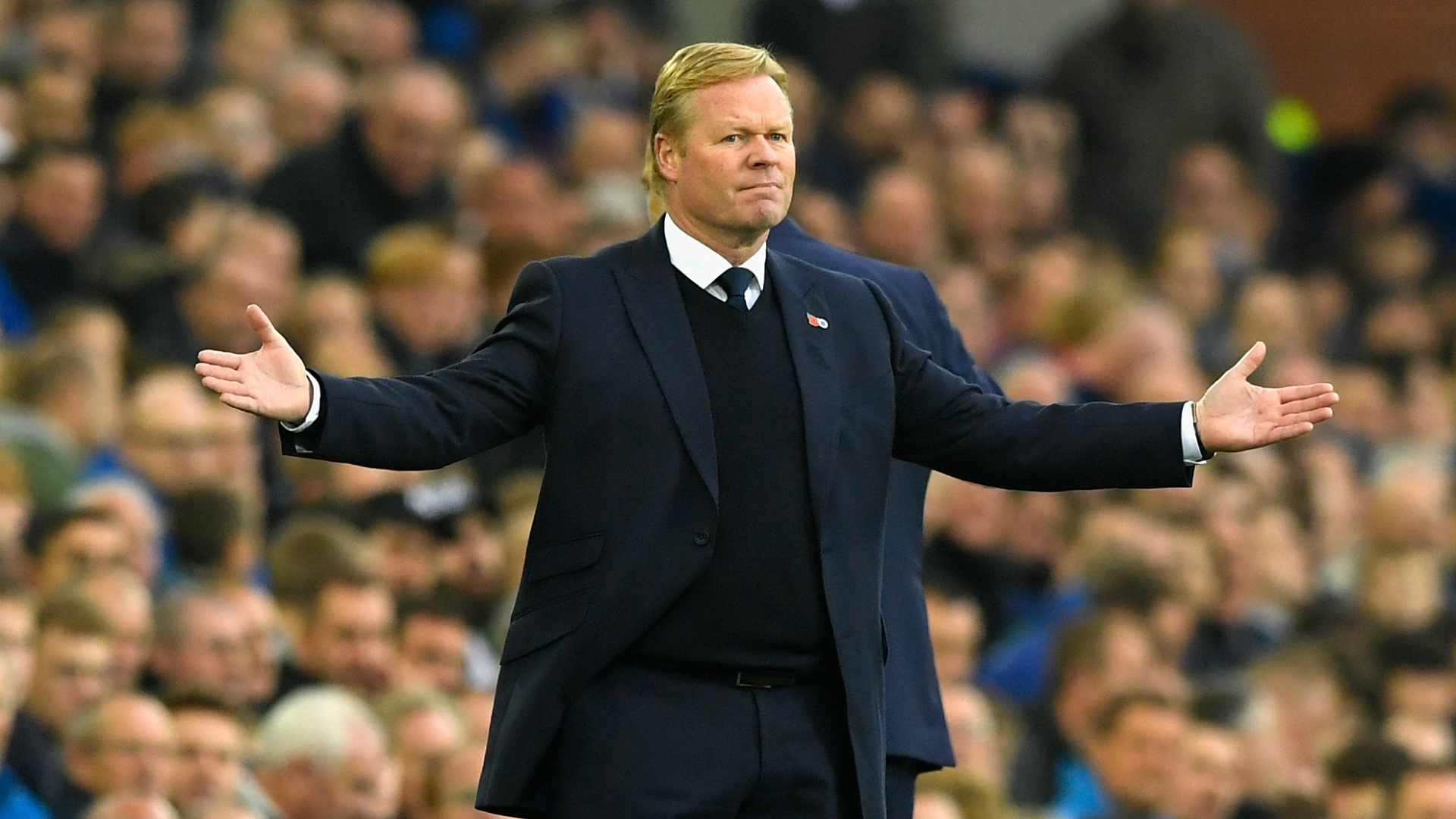 Ronald Koeman, Everton, Premier League, 10302016