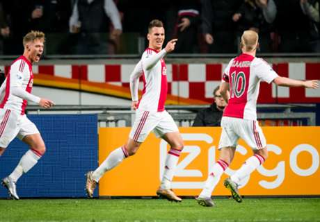 Ajax Kembali Lebarkan Jarak