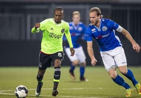 Jong Ajax blijft in spoor van VVV Venlo