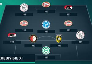 De 33ste speelronde van de Eredivisie ligt achter ons en dus kijkt Goal naar het Opta Eredivisie Team van de Week!