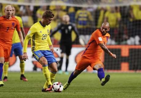 Sneijder shines in Oranje draw