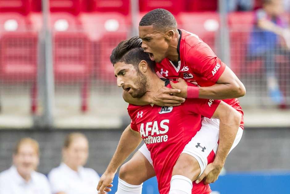 Alireza Jahanbakhsh, AZ-Willem II , 10092016 - Goal.com Soccerway Nl