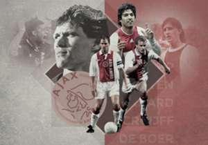 Ajax ist Hollands Rekordmeister. Große Stars trugen schon das Trikot der Amsterdamer. Goal hat die 20 besten der Vereinsgeschichte in einem Ranking zusammengestellt.