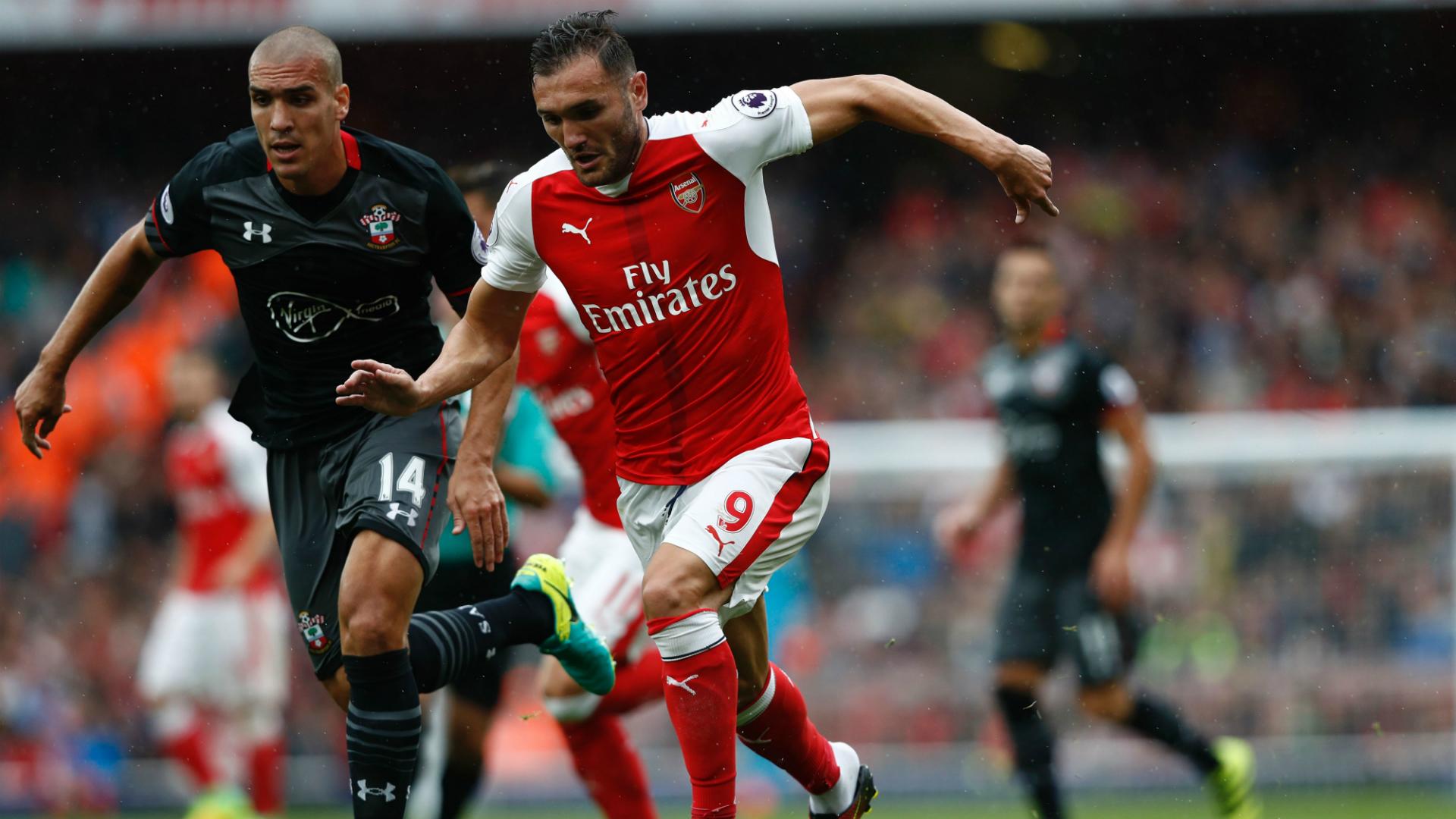 Lucas Perez, Arsenal, Premier League, 20160910