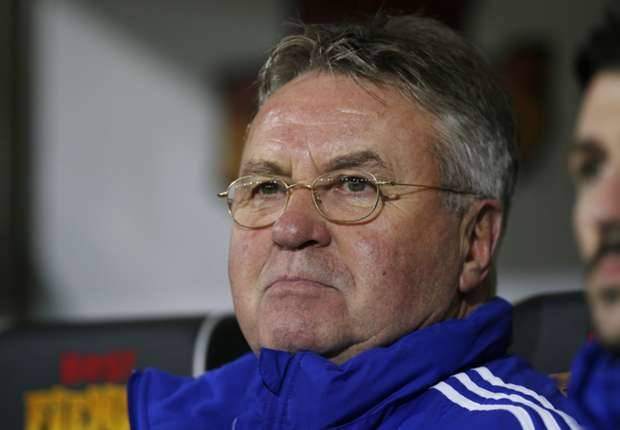 'Almost impossible' - Hiddink gives up on top four