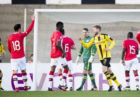 PSV krijgt voetballes van Dortmund