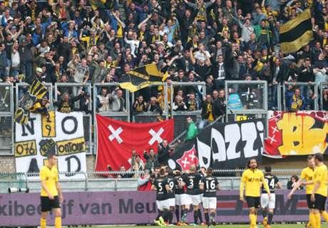 Handhaving dichtbij voor NAC Breda