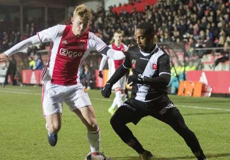 Jong Ajax thuis niet langs MVV