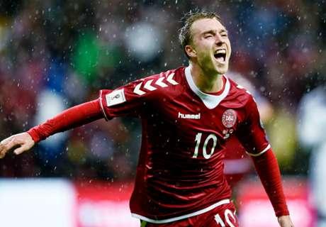 Eriksen schiet Denemarken naar zege