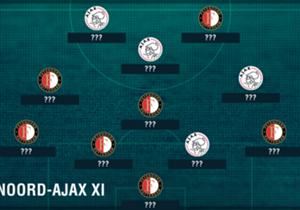 Feyenoord en Ajax staan zondagmiddag om 14.30 uur tegenover elkaar in De Kuip. Reden voor Goal om een elftal samen te stellen met spelers uit beide selecties.