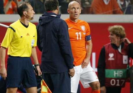 Robben a rechuté